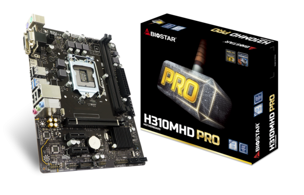 BIOSTAR B360MHD PRO Intel Motherboard Announced