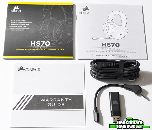 Corsair HS70 Wireless Gaming Headset Review CA-9011177-NA