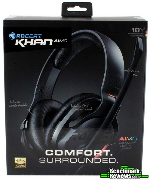 Roccat Khan AIMO 7 1 RGB Gaming Headset Review