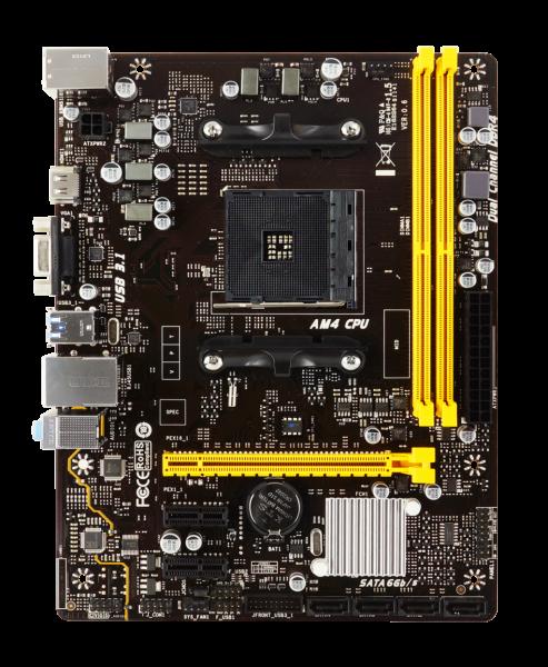 BIOSTAR A320MH AMD AM4 M-ATX Motherboard Debuts