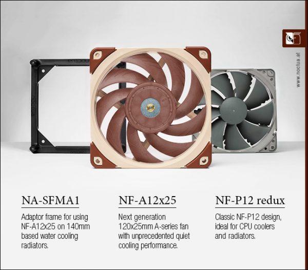 Next-Generation Noctua NF-A12x25 120mm Fan Debuts