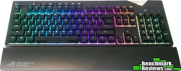 ASUS ROG Strix Flare Aura Sync Mechanical Keyboard Review