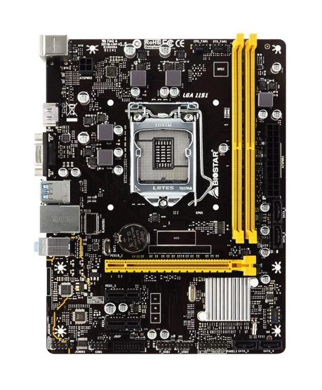 BIOSTAR H310MHC M-ATX MotherboardIntroduced