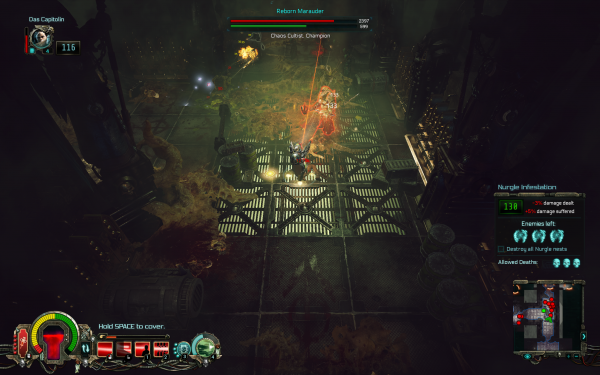 Warhammer 40,000 Inquisitor - Martyr Review Gameplay