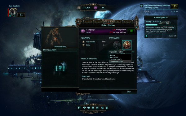 Warhammer 40,000 Inquisitor - Martyr Review Mission Difficulty