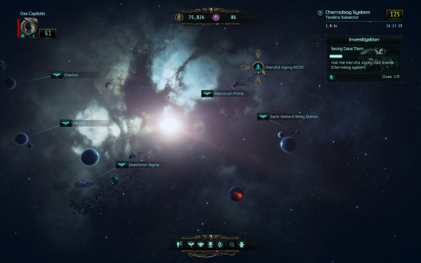 Warhammer 40,000 Inquisitor - Martyr Review Star Map
