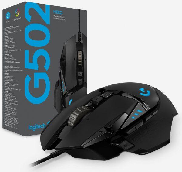 Logitech-G502-HERO-Gaming-Mouse-Debuts