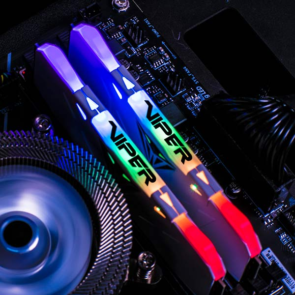 Patriot-Viper-RGB-DDR4-Memory-Modules-Installed-Corner