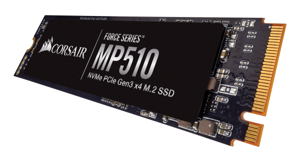 CORSAIR Force MP510 M.2 PCIe NMVe SSD Launched