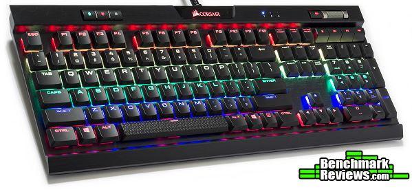 Corsair K70 MK 2 Cherry MX Silver Mechanical Keyboard Review