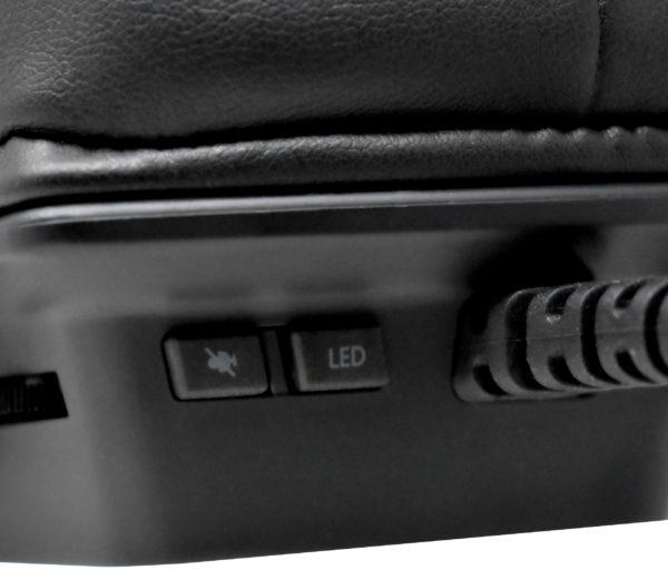 Patriot Viper V380 7.1 Virtual RGB Gaming Headset Controls