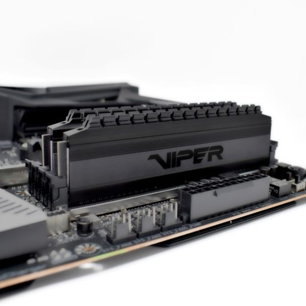 64GB Patriot Viper 4 Blackout DDR4 Gaming Memory Debuts