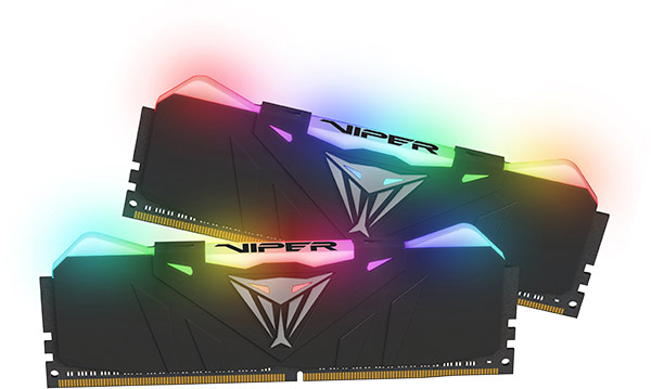 Patriot-Viper-Black-RGB-DDR4-Memory-Preview-Front