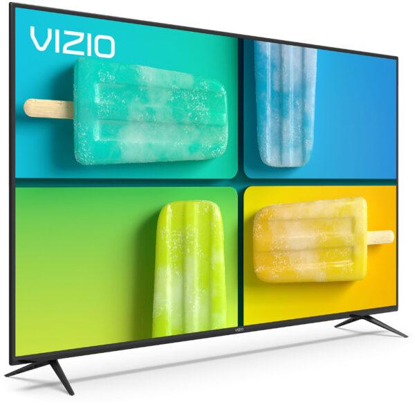 VIZIO V585x-H1 4K HDR Smart TV Left Corner