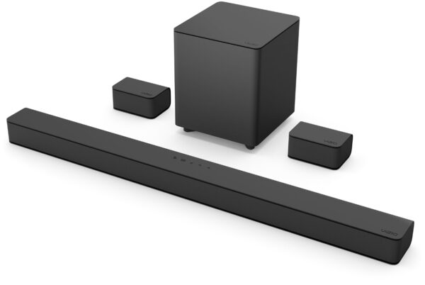 VIZIO M-Series 5.1 Home Theater Sound Bar Kit with Dolby Atmos and DTS.X M51a-H6
