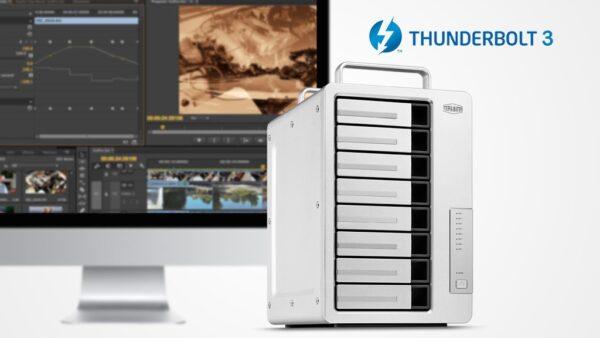 TerraMaster D8 Thunderbolt 3 8-Bay DAS Splash