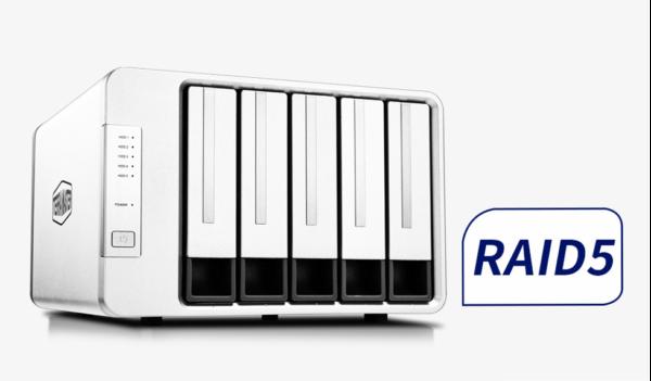 TerraMaster D5-300 RAID-5 USB Type-C Storage Introduced