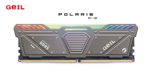 GeIL Polaris DDR5 RGB 7200MHz Gaming Memory Announced