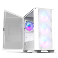 MONTECH AIR 100 ARGB Micro-ATX Case Open